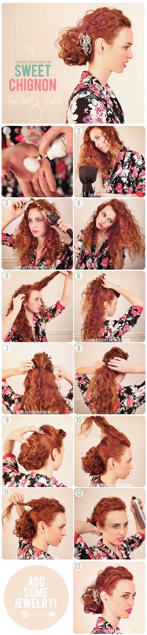 Coiffures-Pratiques-Sur-Cheveux-Bouclés-8