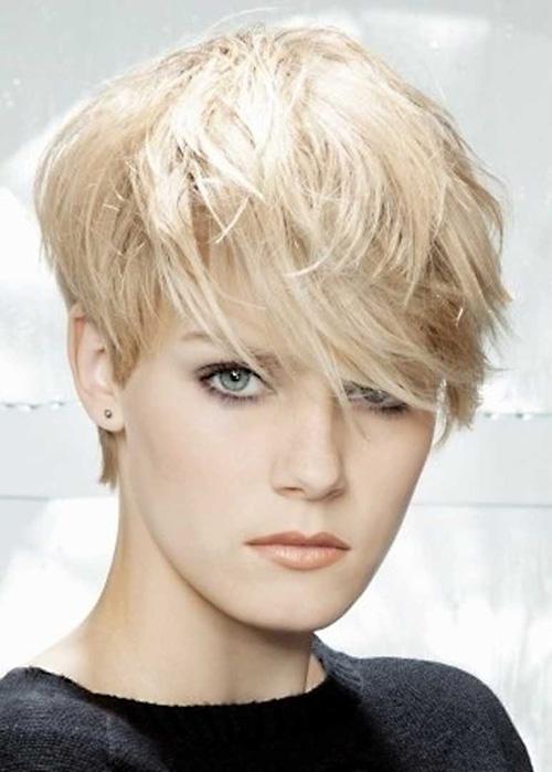 11 Coupes Courtes Blondes   Coiffure simple et facile