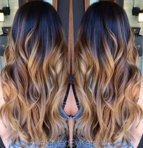 Idées-de-Balayage-Blonds-Caramel-et-Marrons-38