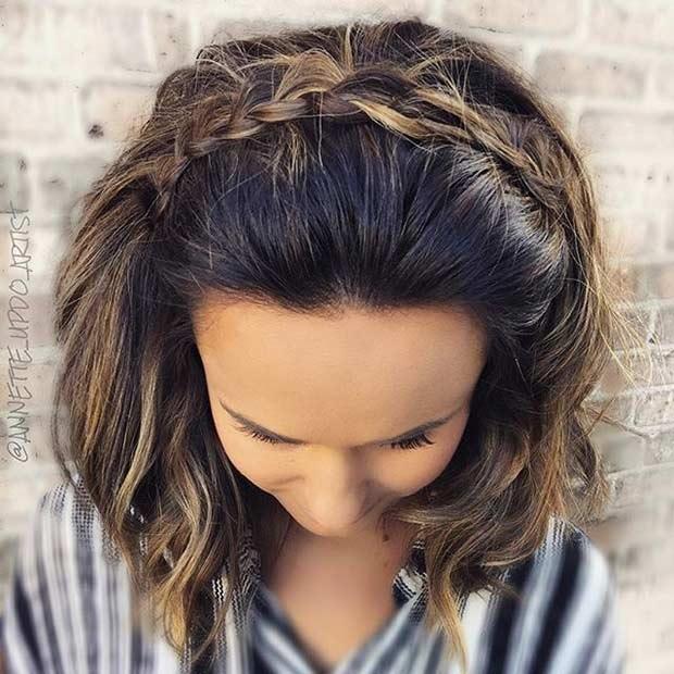 30 mod les de coiffure mariage pour cheveux courts coiffure simple et facile - Coiffure pour aller a un mariage ...