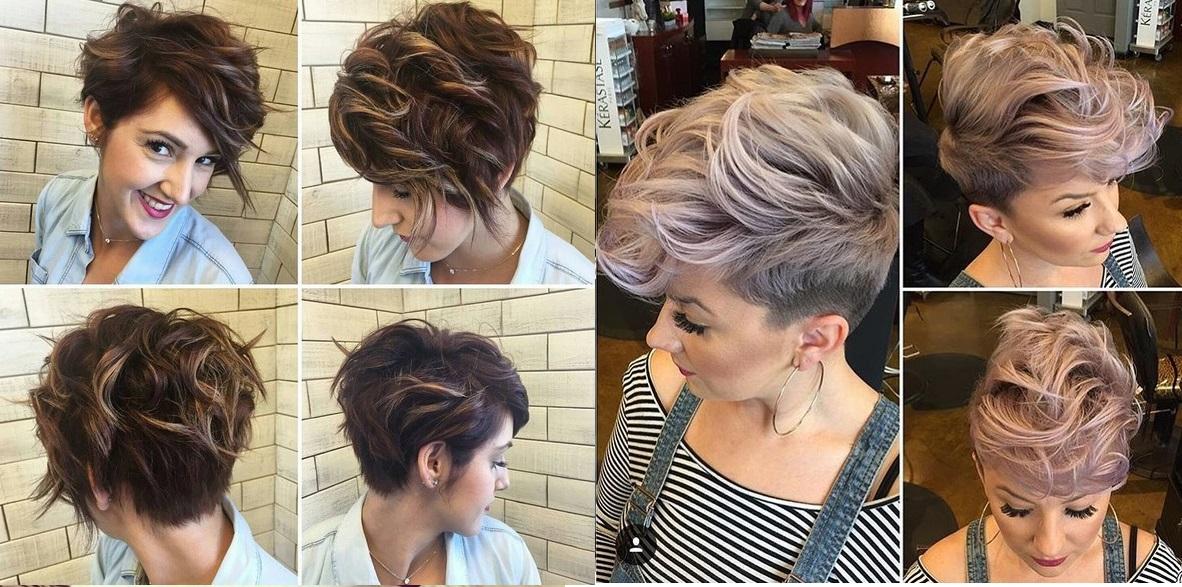 Balayage sur cheveux gris court