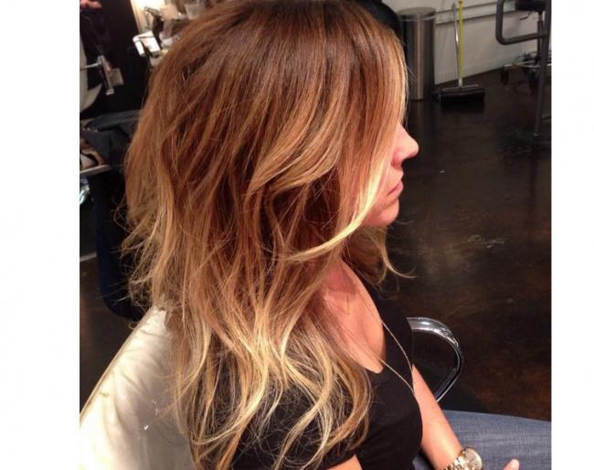 Ombr 233 Hair Sur Cheveux Lisse
