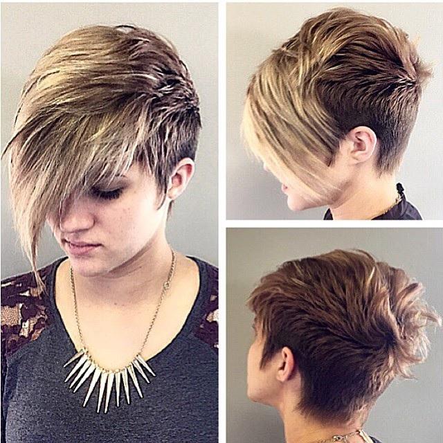 20 undercut magnifiques pour vous inspier coiffure simple et facile - Coupe undercut femme ...