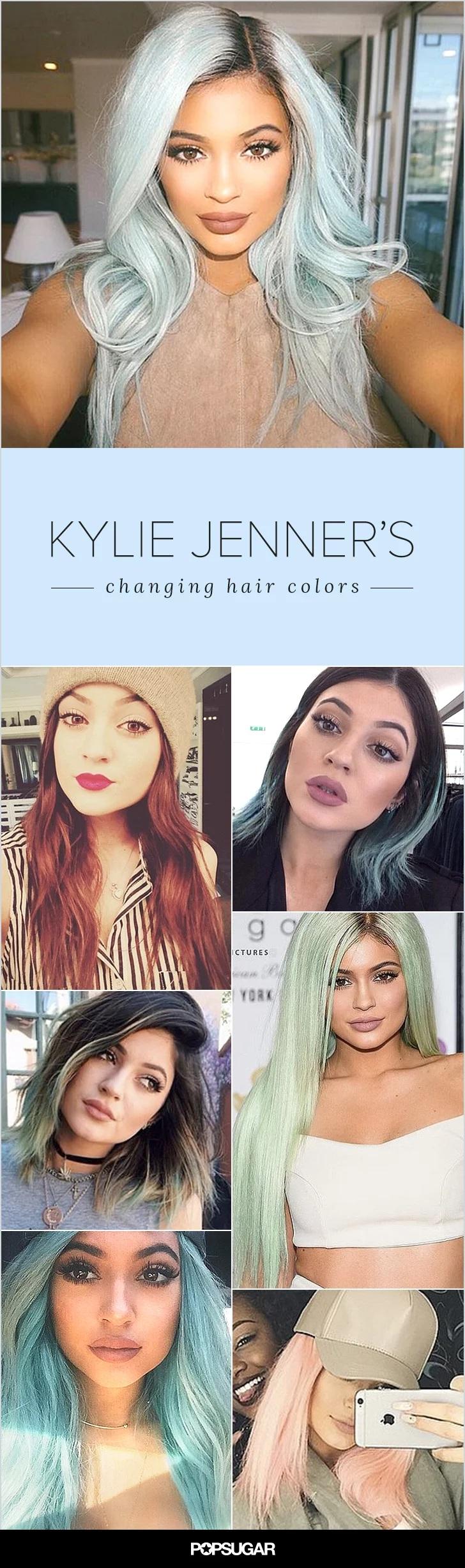 Couleur des cheveux Kylie Jenner  21
