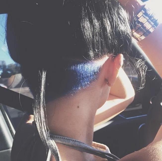 Couleur des cheveux Kylie Jenner  8