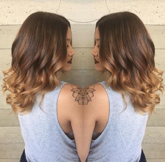 Magnifiques Couleurs Cheveux Mi-longs 11