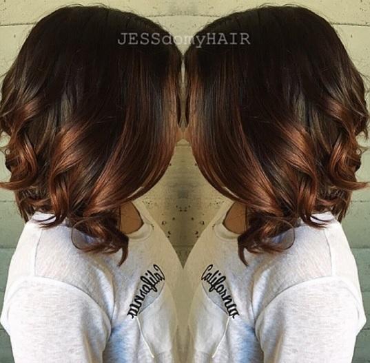 Magnifiques Couleurs Cheveux Mi-longs 13