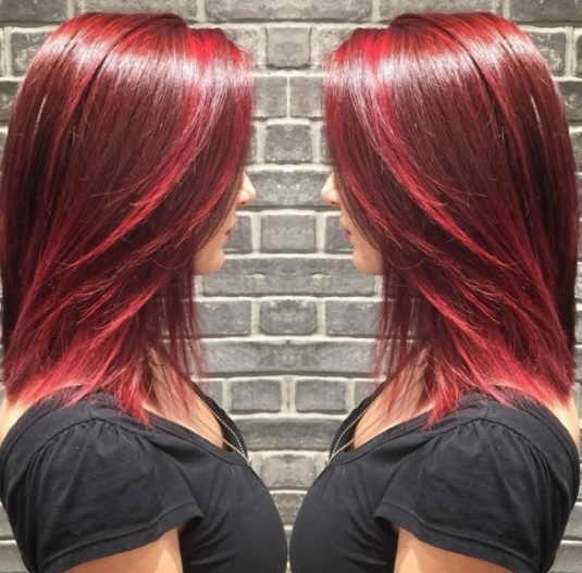 Magnifiques Couleurs Cheveux Mi-longs 28