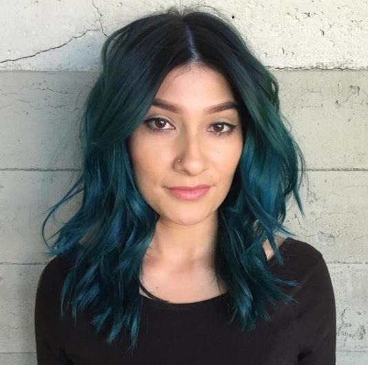 Magnifiques Couleurs Cheveux Mi-longs 3