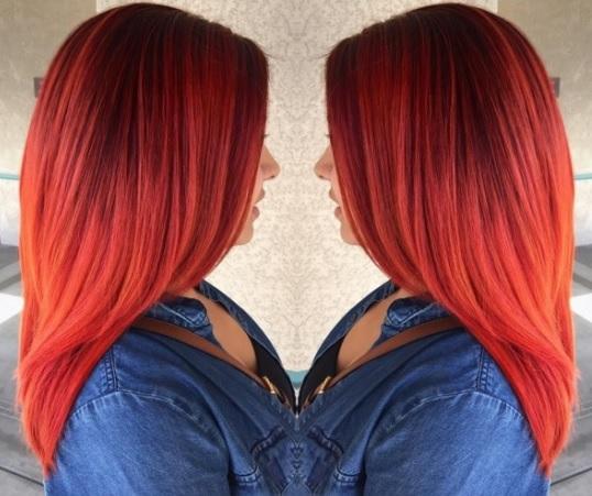 Magnifiques Couleurs Cheveux Mi-longs 30