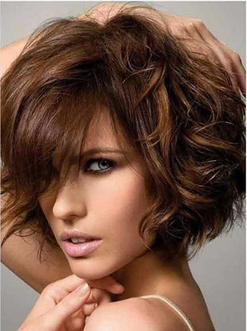 20 Coupes Courtes Dégradées Pour Cheveux Fins | Coiffure simple et facile