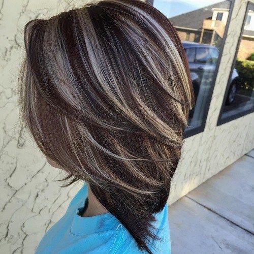 cheveux  graduée  6