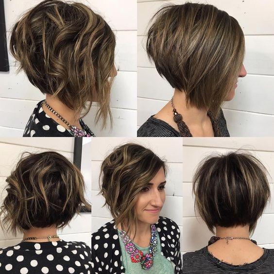 cheveux  graduée  7