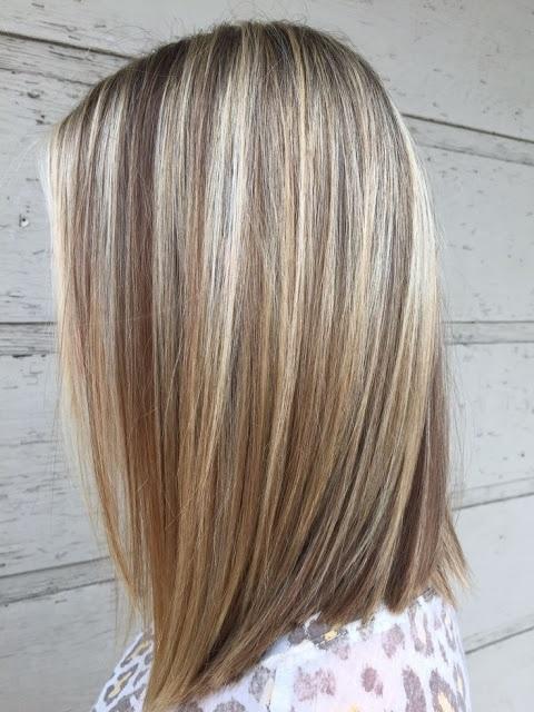 cheveux mèchés 12