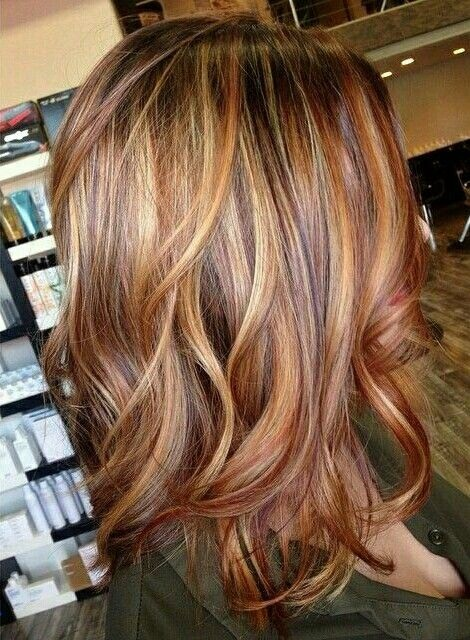 cheveux mèchés 13