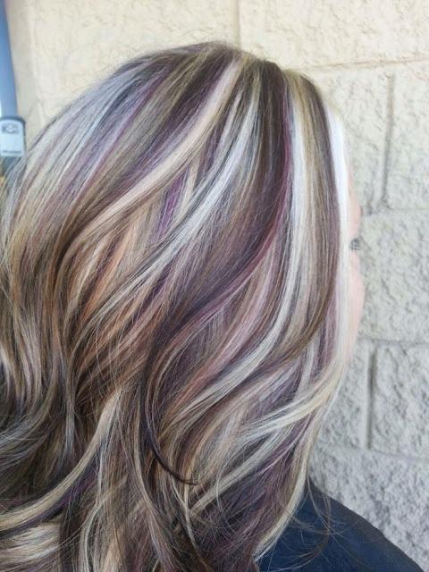 cheveux mèchés 14