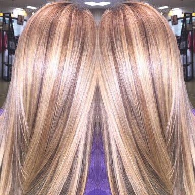 cheveux mèchés 15