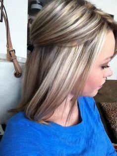 cheveux mèchés 3