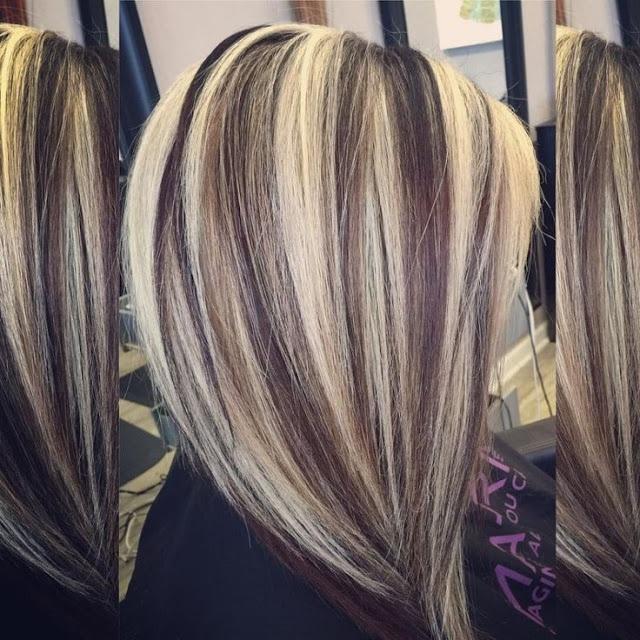 cheveux mèchés 9