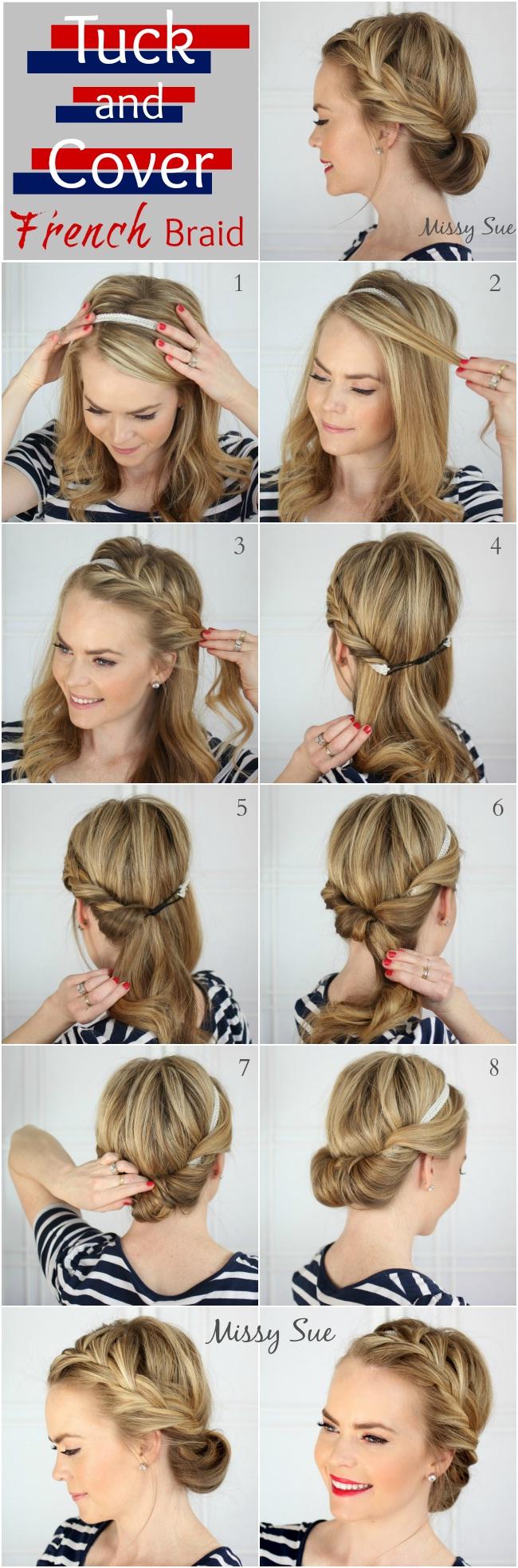 10 magnifiques tutoriels de coiffures de mariage tendance 2016 coiffure simple et facile. Black Bedroom Furniture Sets. Home Design Ideas