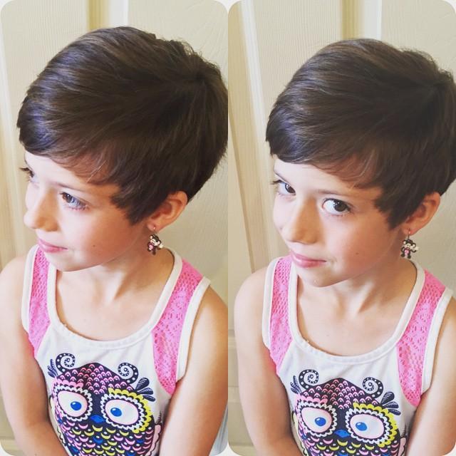 Coupes pour petites filles les meilleures mod les coiffure simple et facile - Coupe petite fille ...