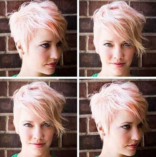 Belles coupes Blondes 12