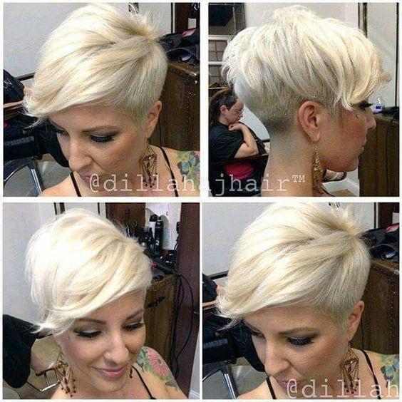 Belles coupes Blondes 6
