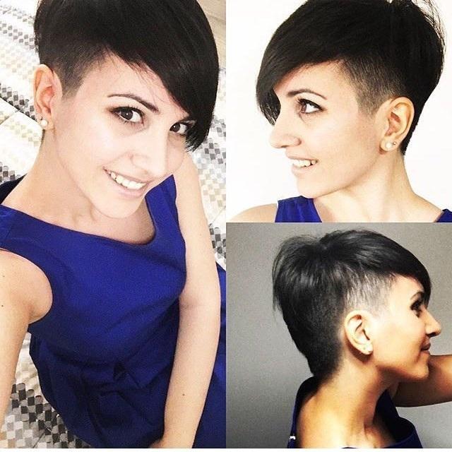 Cheveux rasés 21