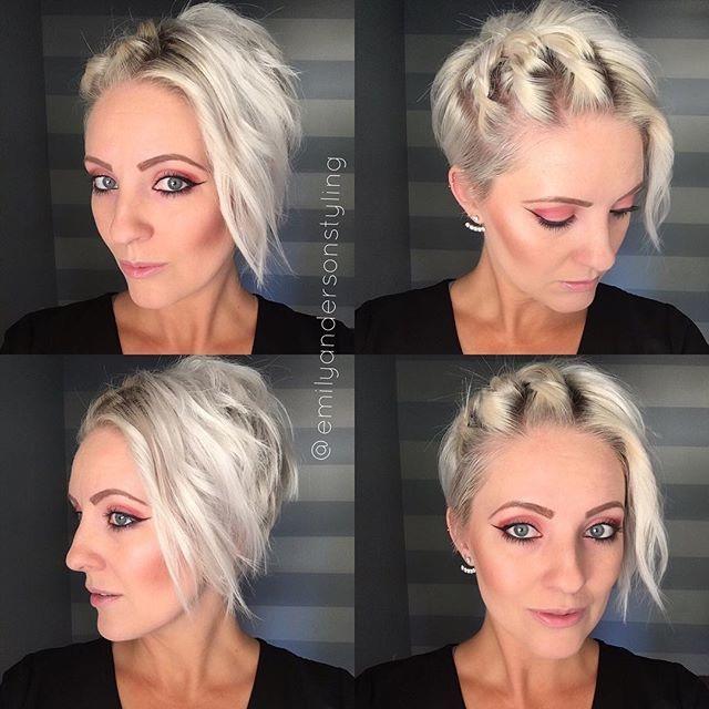 Belle Coiffure Cheveux Courte Coiffure Simple Et Facile