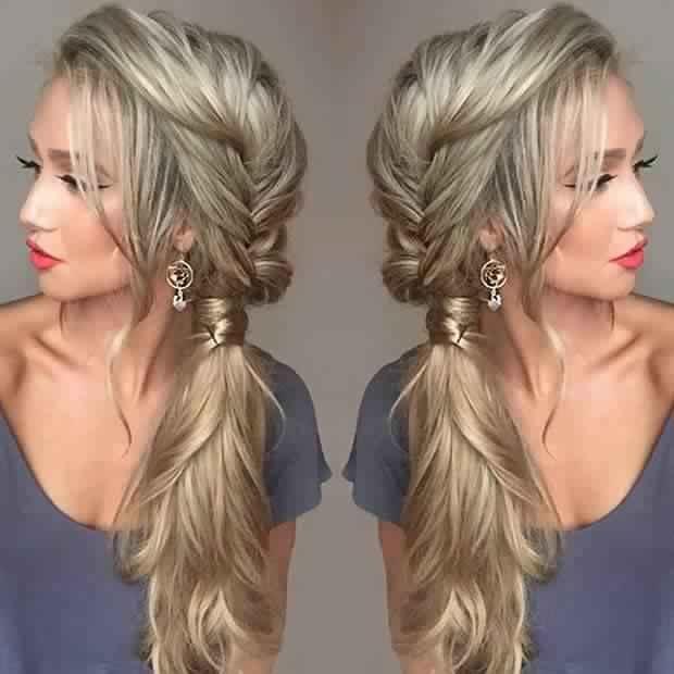 Magnifiques coiffures pour soir e coiffure simple et facile - Coiffure soiree simple ...