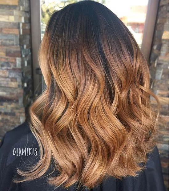 Hottest Balayage Hair  12