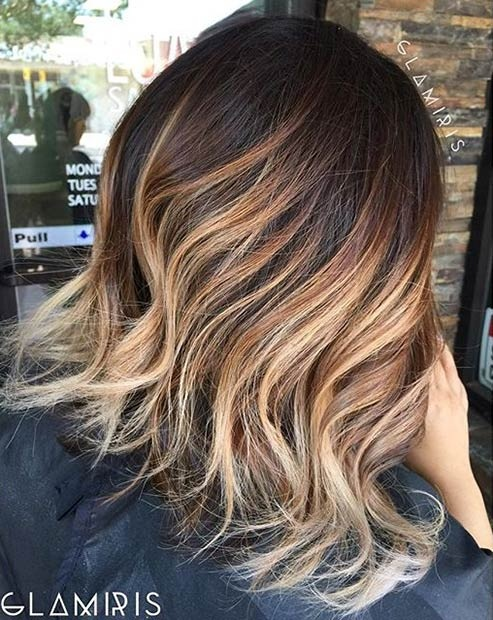 Hottest Balayage Hair  13