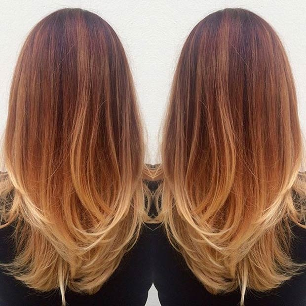 Hottest Balayage Hair  16