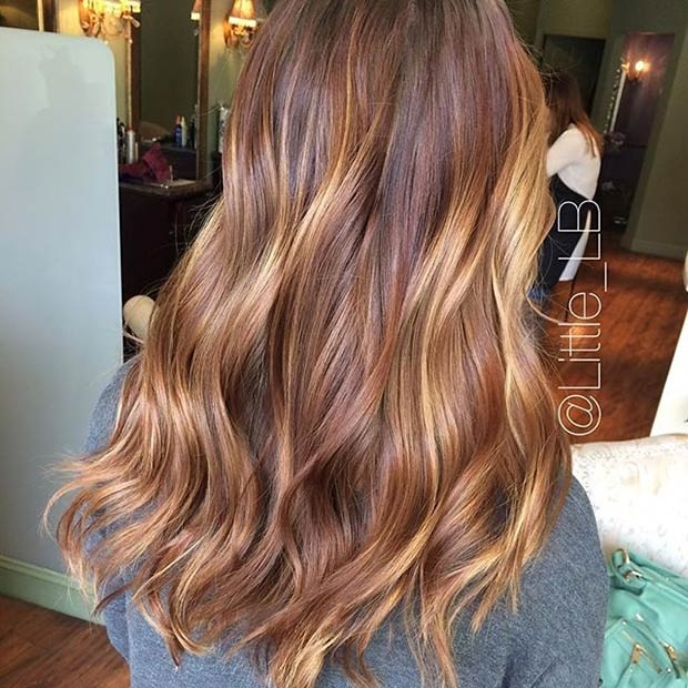 Hottest Balayage Hair  21
