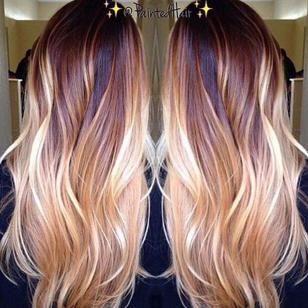 Hottest Balayage Hair  28