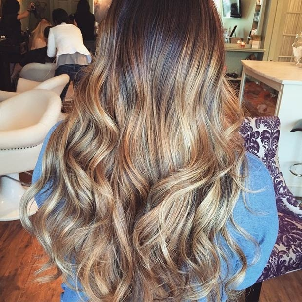 Hottest Balayage Hair  36