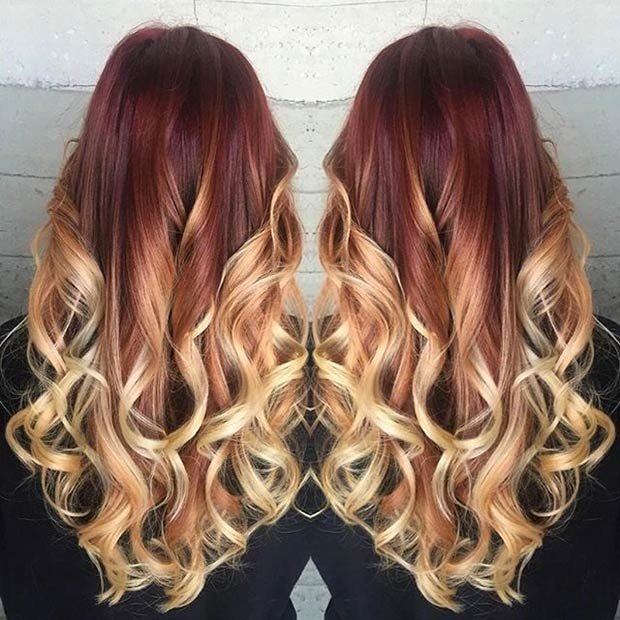 Hottest Balayage Hair  6
