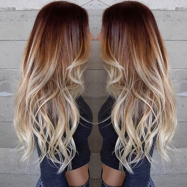 Hottest Balayage Hair  7
