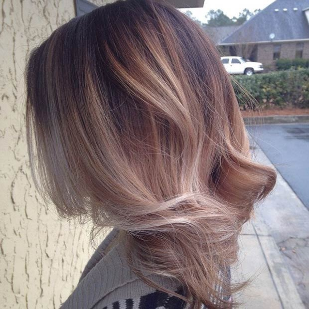 Hottest Balayage Hair  9