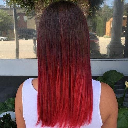 Idées Rouge Couleur des cheveux  1