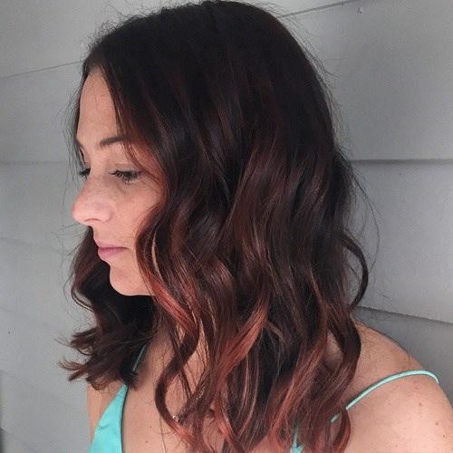 Idées Rouge Couleur des cheveux  13