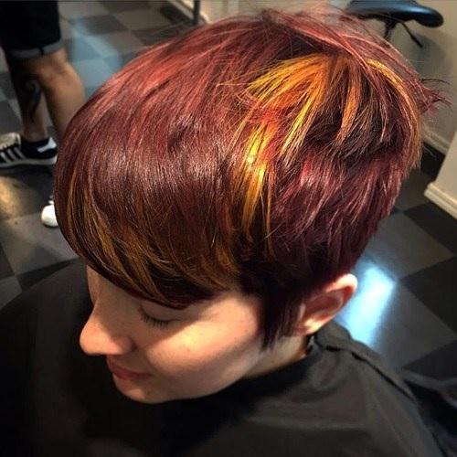 Idées Rouge Couleur des cheveux  15