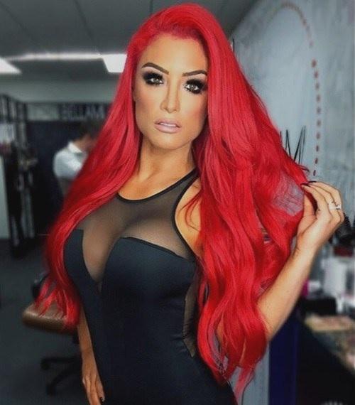 Idées Rouge Couleur des cheveux  18