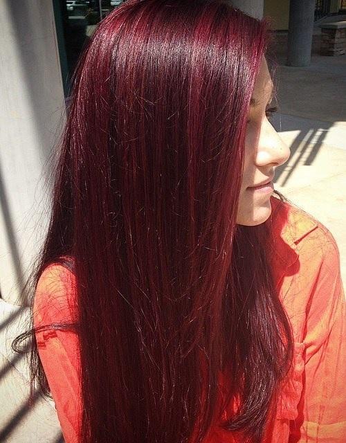 Idées Rouge Couleur des cheveux  21