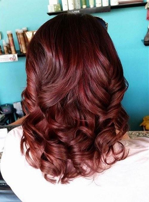 Idées Rouge Couleur des cheveux  6