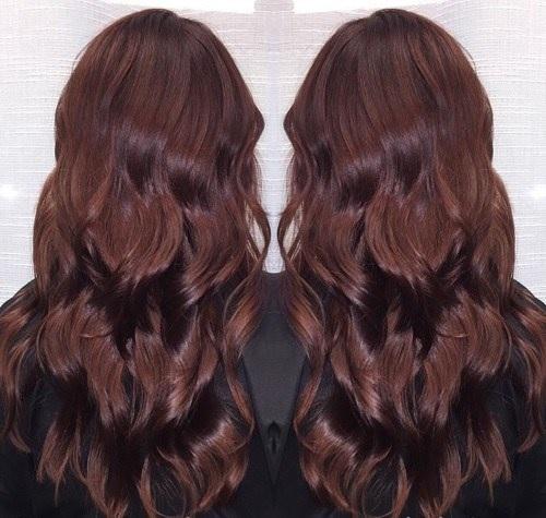 Idées Rouge Couleur des cheveux  7