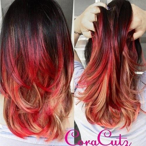 Idées Rouge Couleur des cheveux  8