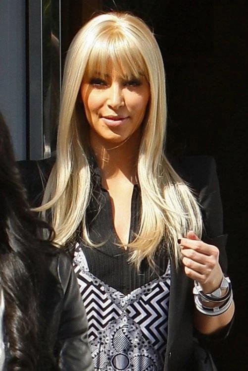 Les Meilleurs Changements Capillaires de Kim Kardashian 10