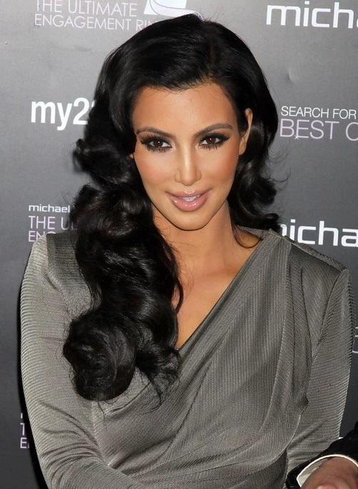 Les Meilleurs Changements Capillaires de Kim Kardashian 11