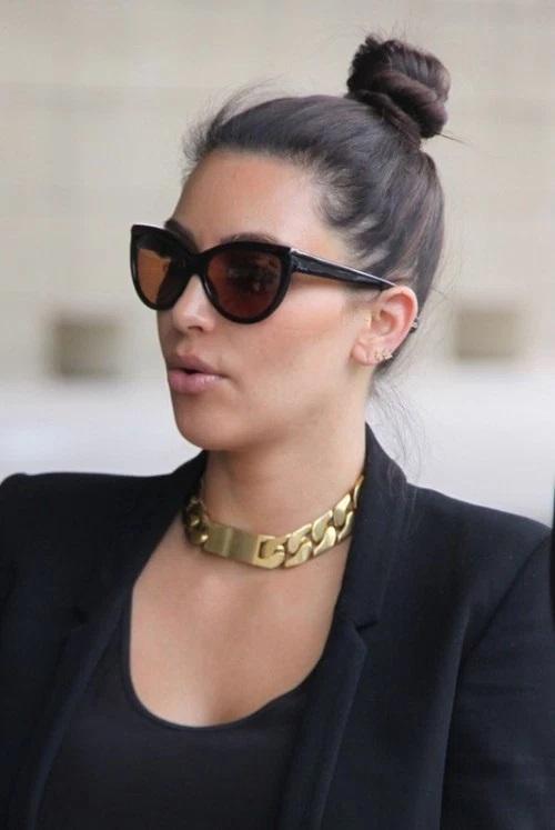 Les Meilleurs Changements Capillaires de Kim Kardashian 4